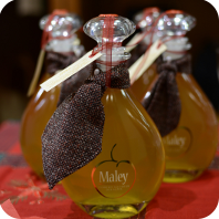 Maley, a toast in Courmayeur